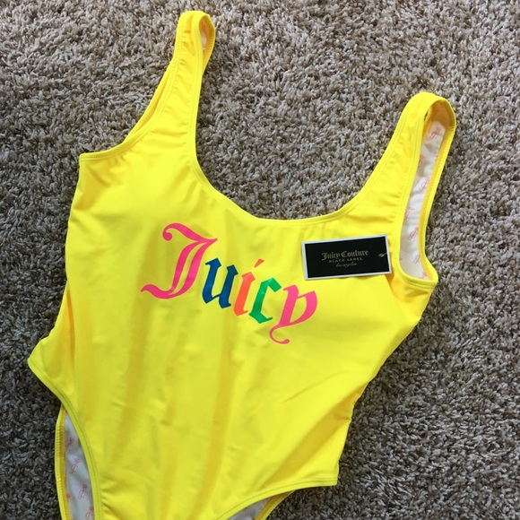 Juicy Couture Other - Juicy Couture One-Piece Swimsuit Pastel M Medium